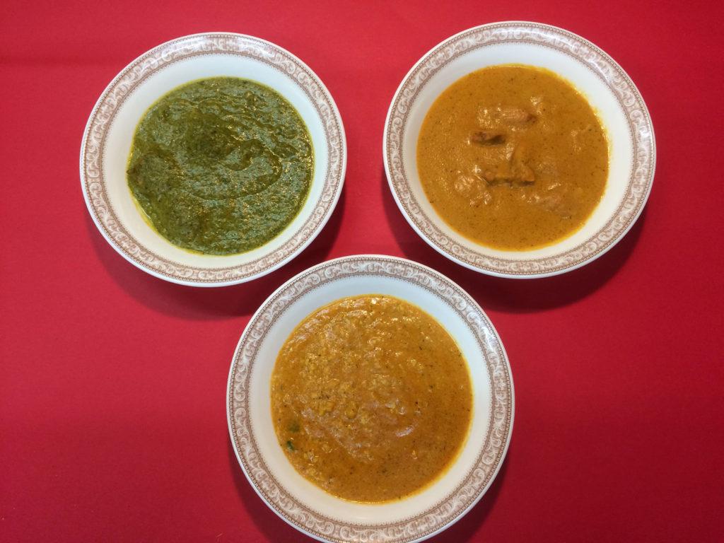 インドカレー単品各種