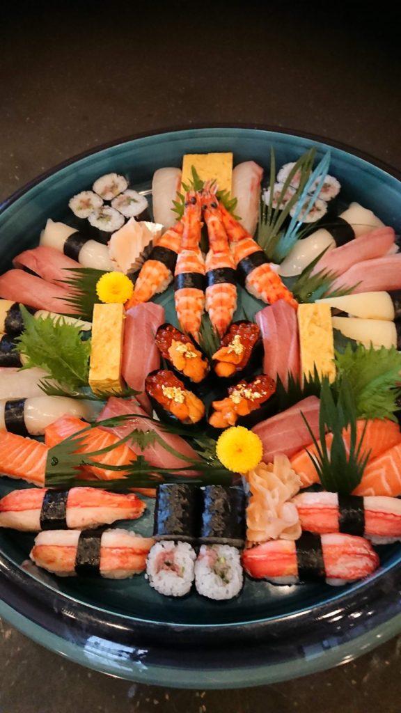 にぎり寿司 特上(4人前)