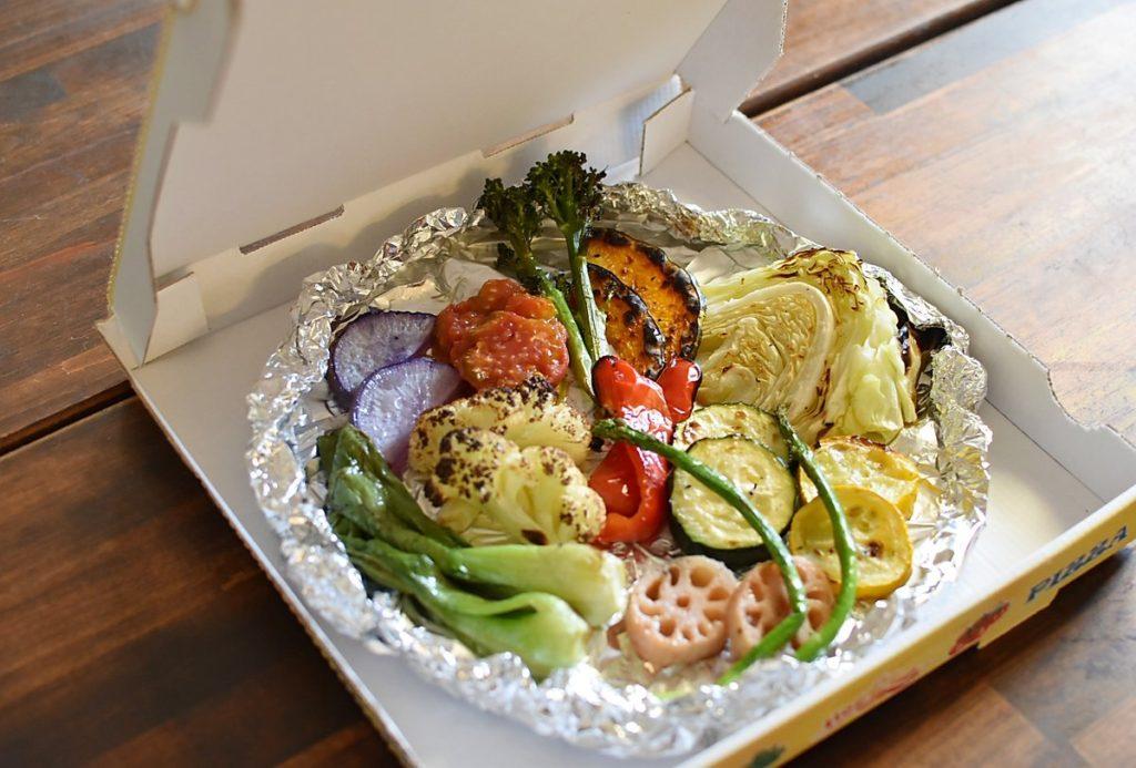 磐田野菜の窯焼き